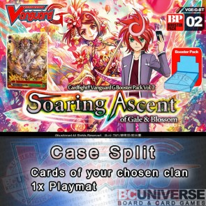 BT02 Soaring Ascent of Gale and Blossom (English) Cardfight Vanguard G Case Split