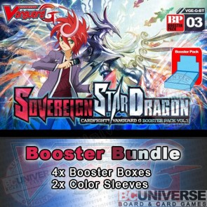 BT03 Sovereign Star Dragon (English) Cardfight Vanguard G Booster Box Bundle