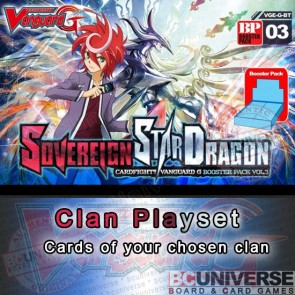 BT03 Sovereign Star Dragon (English) Cardfight Vanguard G Case Split