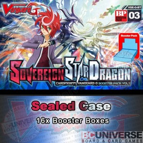 BT03 Sovereign Star Dragon (English) Cardfight Vanguard G Sealed Case