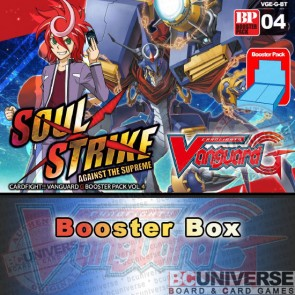 G-BT04 Soul Strike Against The Supreme (English) Cardfight Vanguard G Booster Box