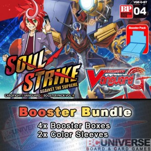 G-BT04 Soul Strike Against The Supreme (English) Cardfight Vanguard G Booster Box Bundle