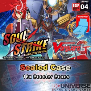 G-BT04 Soul Strike Against The Supreme (English) Cardfight Vanguard G Sealed Case