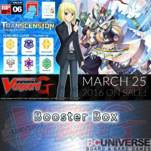 G-BT06 Transcension of Blade & Blossom Cardfight Vanguard G Booster Box