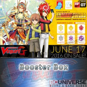 G-BT07 Glorious Bravery of Radiant Sword Cardfight Vanguard G Booster Box
