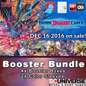 G-BT09 Divine Dragon Caper Cardfight Vanguard G Booster Box Bundle