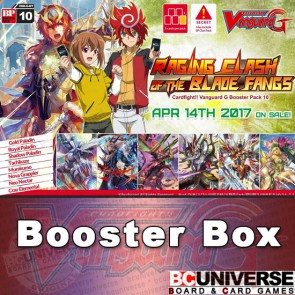 G-BT10 Raging Clash of the Blade Fangs Cardfight Vanguard G Booster Box