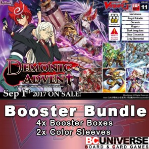 G-BT11 Demonic Advent Cardfight Vanguard G Booster Box Bundle