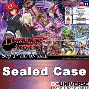 G-BT11 Demonic Advent Cardfight Vanguard G Sealed Case