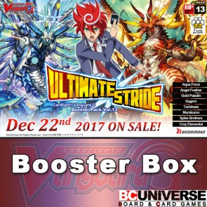 G-BT13  Ultimate Stride Cardfight Vanguard G Booster Box