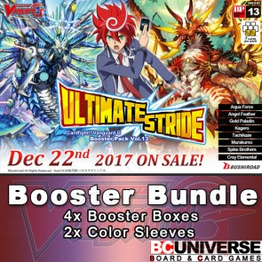 G-BT13 Ultimate Stride Cardfight Vanguard G Booster Box Bundle
