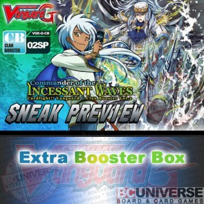 G-CB02: Commander of the Incessant Waves Cardfight!! Vanguard G Clan Booster Box