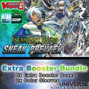 G-CB02: Commander of the Incessant Waves Cardfight!! Vanguard G Clan Booster Box Bundle