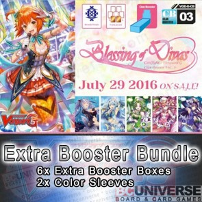 G-CB03: Blessing of Divas Cardfight!! Vanguard G Clan Booster Box Bundle