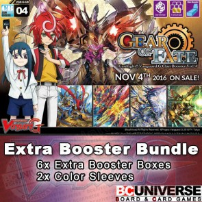 G-CB04: Gear of Fate Cardfight!! Vanguard G Clan Booster Box Bundle