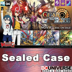 G-CB04: Gear of Fate Cardfight!! Vanguard G Clan Sealed Case