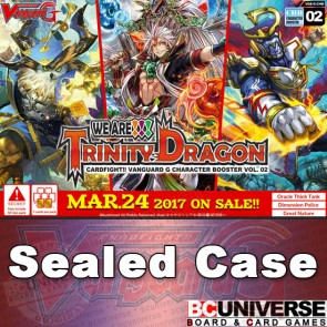 G-CHB02: We Are!!! Trinity Dragon Cardfight!! Vanguard G Character Sealed Case