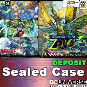 G-EB02: The AWAKENING ZOO Cardfight!! Vanguard G Extra Booster Sealed Case