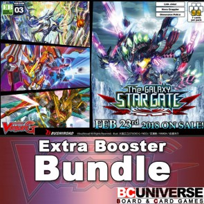 G-EB03: The GALAXY STAR GATE Cardfight!! Vanguard G Extra Booster Box Bundle