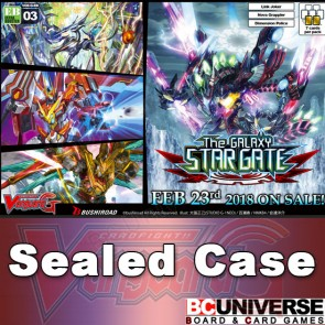 G-EB03: The GALAXY STAR GATE Cardfight!! Vanguard G Extra Booster Sealed Case