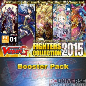 Fighters Collection 2015 Cardfight Vanguard G Booster Box