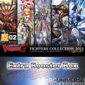 G-FC15W: Fighters Collection 2015 Winter Cardfight Vanguard G Booster Box