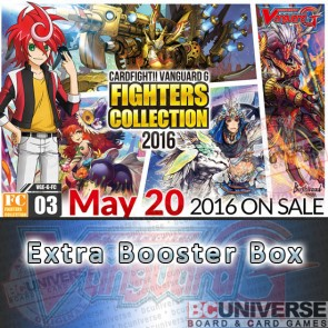 G-FC16: Fighters Collection 2016 Cardfight Vanguard G Booster Box