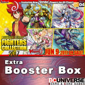 G-FC17: Fighters Collection 2017 Cardfight Vanguard G Booster Box