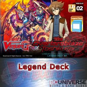 "G- LEG2: The Overlord blaze ""Toshiki Kai"" - Cardfight Vanguard G Legend Deck Vol. 2"