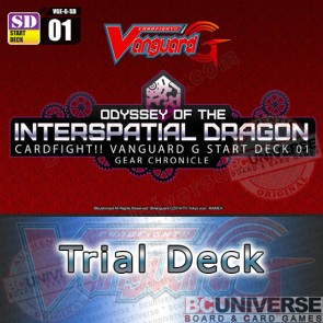 G-SD01: Odyssey of the Interspatial Dragon - Cardfight Vanguard G Start Trial Deck