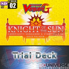 G-SD02: Knight of the Sun - Cardfight Vanguard G Start Trial Deck