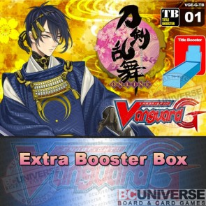 G-TB01: Cardfight!! Vanguard G Clan Booster Box: Touken Ranbu -ONLINE-