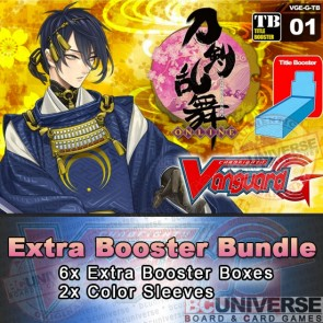 G-TB01: Cardfight!! Vanguard G Clan Booster Box Bundle: Touken Ranbu -ONLINE-
