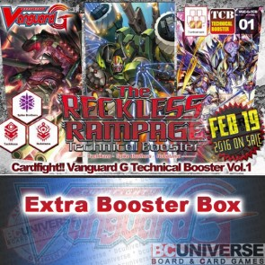 G-TCB01: The Reckless Rampage Cardfight!! Vanguard G Technical Booster Box
