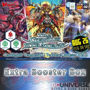 G-TCB02: The GENIUS STRATEGY Cardfight!! Vanguard G Technical Booster Box