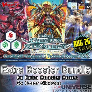 G-TCB02: The GENIUS STRATEGY Cardfight!! Vanguard G Technical Booster Box Bundle