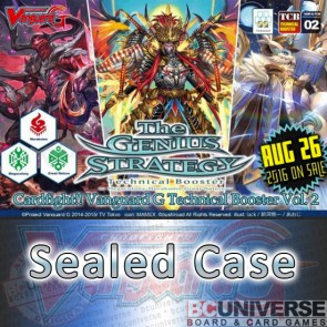G-TCB02: The GENIUS STRATEGY Cardfight!! Vanguard G Technical Booster Sealed Case