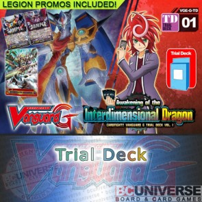 G Trial Deck Vol. 01:  Awakening of the Interdimensional Dragon - Cardfight Vanguard G