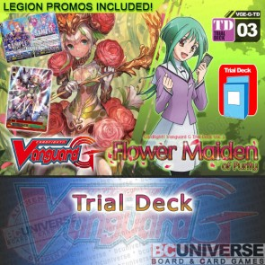 G Trial Deck Vol. 03:  Flower Maiden of Purity - Cardfight Vanguard G