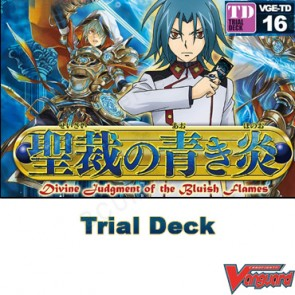 Trial Deck Vol. 16: Divine Judgment of the Bluish Flames - Cardfight Vanguard
