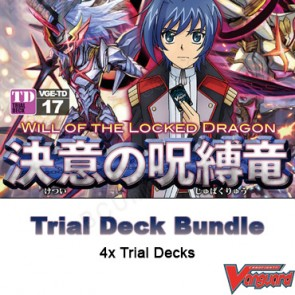 Trial Deck Vol. 17: Will of the Locked Dragon - Cardfight Vanguard Trial Deck Bundle