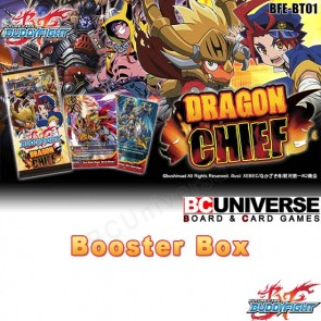 BT01 Dragon Chief (English) Future Card Buddyfight Booster Box