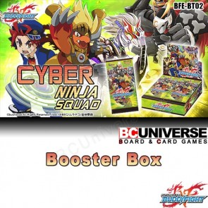 BT02 Cyber Ninja Squad (English) Future Card Buddyfight Booster Box