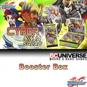 BT02 Cyber Ninja Squad (English) Future Card Buddyfight Booster Box