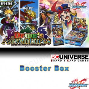 BT03 Drum's Adventures (English) Future Card Buddyfight Booster Box