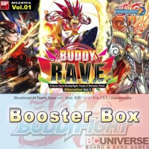 D-BT01A: Buddy Rave (English) Future Card Buddyfight Triple D Booster Box