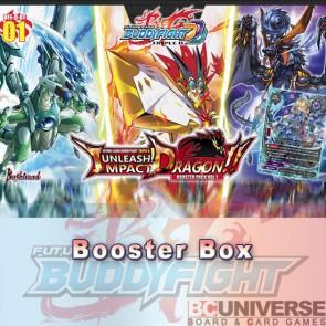 D-BT01: Unleash! Impact Dragon!! (English) Future Card Buddyfight Triple D Booster Box