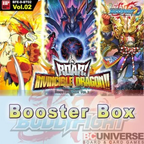 D-BT02: Roar! Invincible Dragon!! (English) Future Card Buddyfight Triple D Booster Box