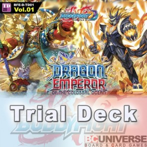 D-TD01: Dragon Emperor of the Colossal Ocean - Future Card Buddyfight Triple D Trial Deck