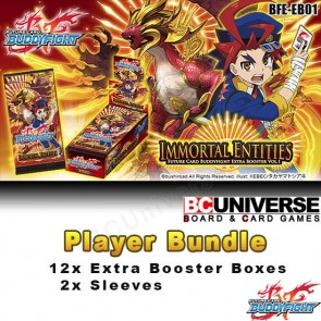 EB01: Immortal Entities - Future Card Buddyfight Extra Booster Player Bundle